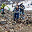 Karl Egloff en la Elbrus Sky Marathon 2017 donde batió el récor de ascenso y descenso del Elbrus: 4 horas y 20 minutos.