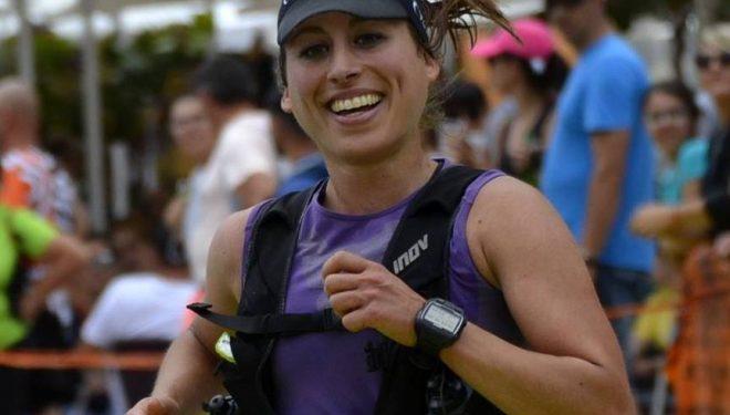 Eva Bernat Llorens en la Maratón de Transvulcania 2017