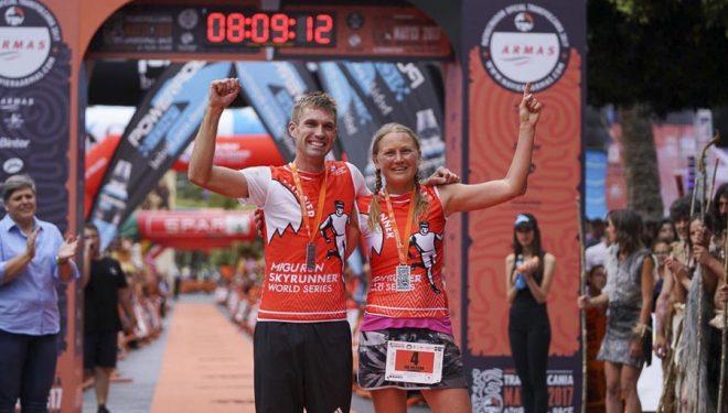Timothy Lee Freriks e Ida Nilsson ganadores Transvulcania 2017