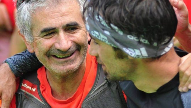 Ramón Ferrer Monrasín con Luis Alberto Hernando