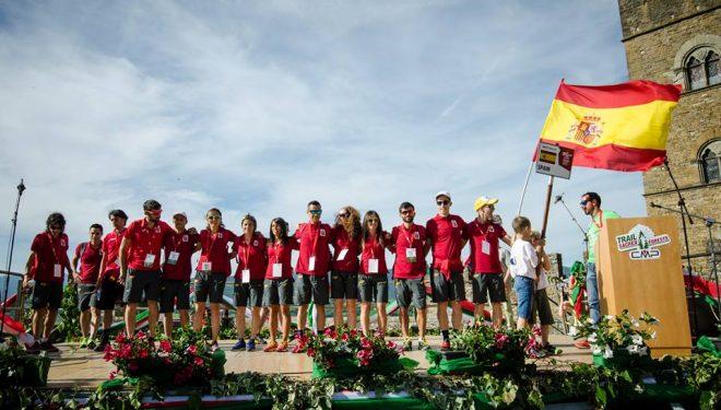 La selección española RFEA