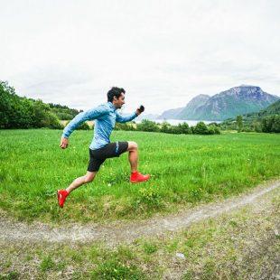 Kilian Jornet entrenando en Noruega 2017