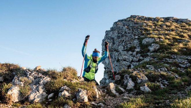 Stéphane Brogniart en la Gran Travesía del Jura 2017