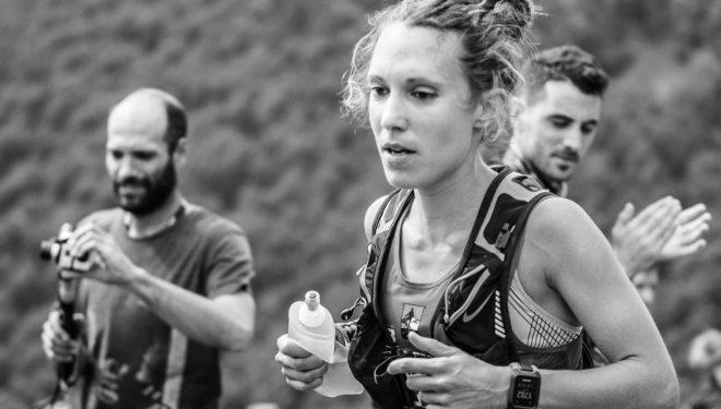 María Zorroza en el maratón Zegama-Aizkorri 2017