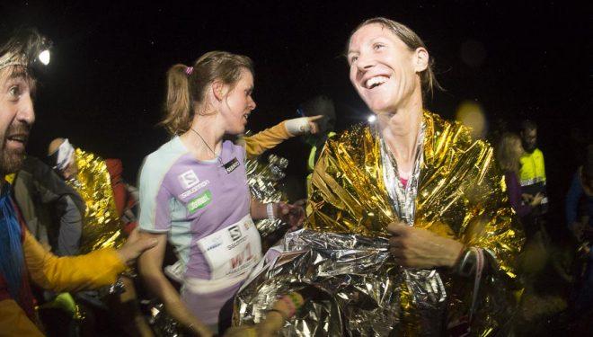 Christel Dewalle ganadora Kilómetro Vertical de Limone  2014.