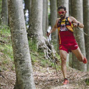Luis Alberto Hernando en el Campeonato Mundo Trail 2017 celebrado en Italia que ganó