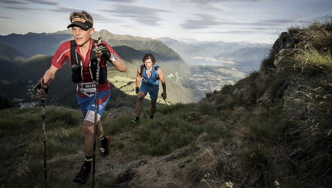 Stephan Hugenschmidt y Matthias Dippacher mantuvieron un duelo a lo largo de los 113 kilómetros de la Scenic Trail 2017