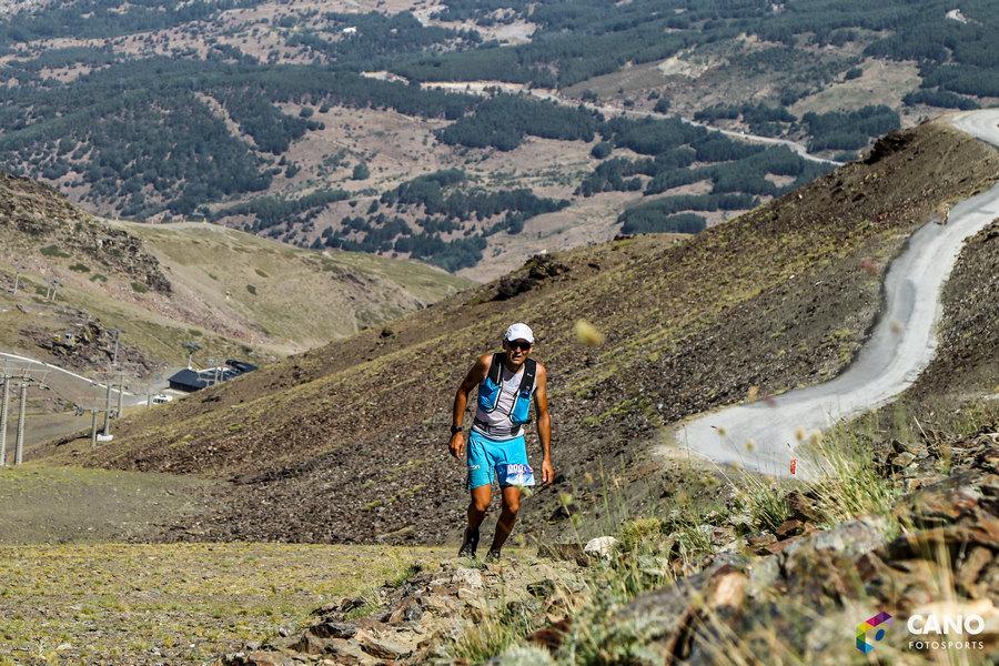 Miguel Heras en la Ultra Sierra Nevada 2017