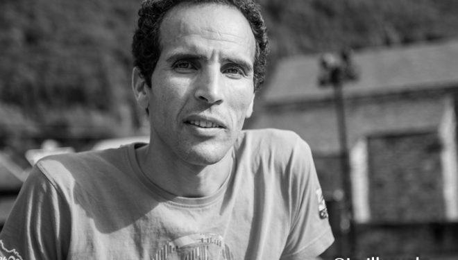 Hassan Ait Chaou en la víspera de la Buff Epic Trail 2017
