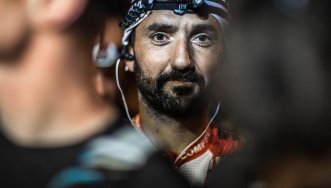 Jordi Gamito en la salida de la Madeira Island Ultra-Trail 2017
