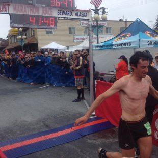 Kilian Jornet en el Mount Marathon