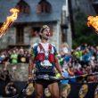 Gerard Morales cruza la meta de la Buff Epic Trail Ultramarathon 2017