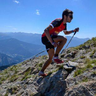 Jan Margarit en el Kilómetro Vertical de Arinsal 2017