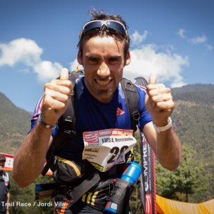 Luis Alberto Hernando en la Everest Trail Race 2013