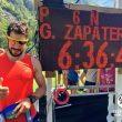 Genís Zapater ante su resultado 6h2647 en la Kima 2016