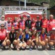 La selección española con sus medallistas en el Skyrace Arinsal 2017