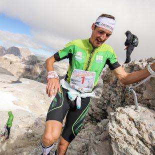 Tadei Pivk en la Dolomites Skyrace 2016