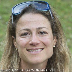 Fernanda Maciel en los alrededores del Aconcagua