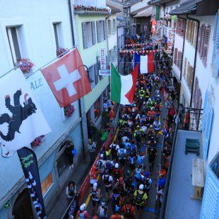 Salida de la OCC 2016 en Orsières en Suiza