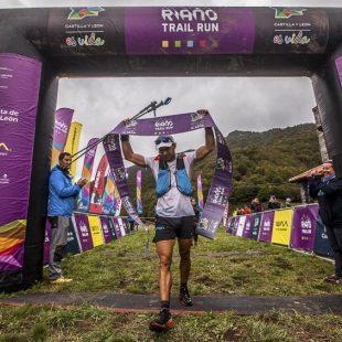 Pablo Baison entra en meta segunda etapa Riaño Trail Run 2017