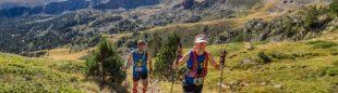 Ragna Debats y Pere Aurell en la Pyrenees Stage Run 2016