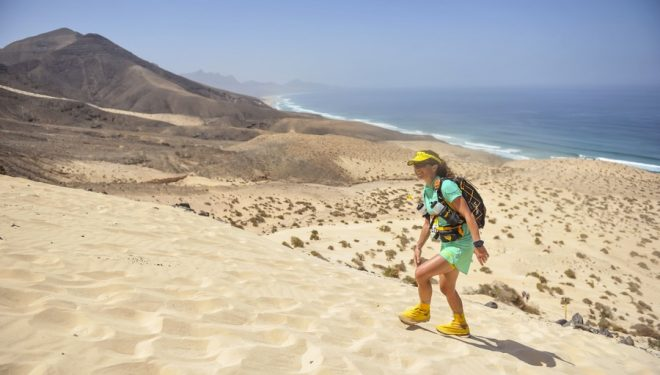 Anna-Marie Watson vencedora de la primera etapa de la Half MDS Fuerteventura 2017