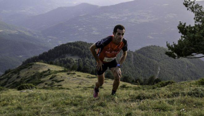 Agustí Roc en la Vilaller Vertical Race 2017