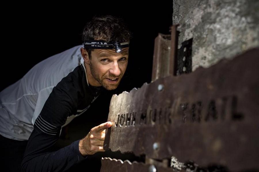 François DHaene en su récord al John Muir Trail en octubre de 2017