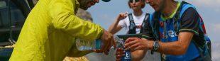 Avituallamiento del Ultra Trail Ternua Sobarbe 2015