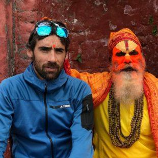 Luis Alberto Hernando en Nepal en su viaje para la Everest Trail Race 2017
