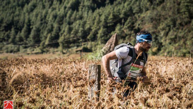 Luis Alberto Hernando en la primera etapa de la Everest Trail Race 2017