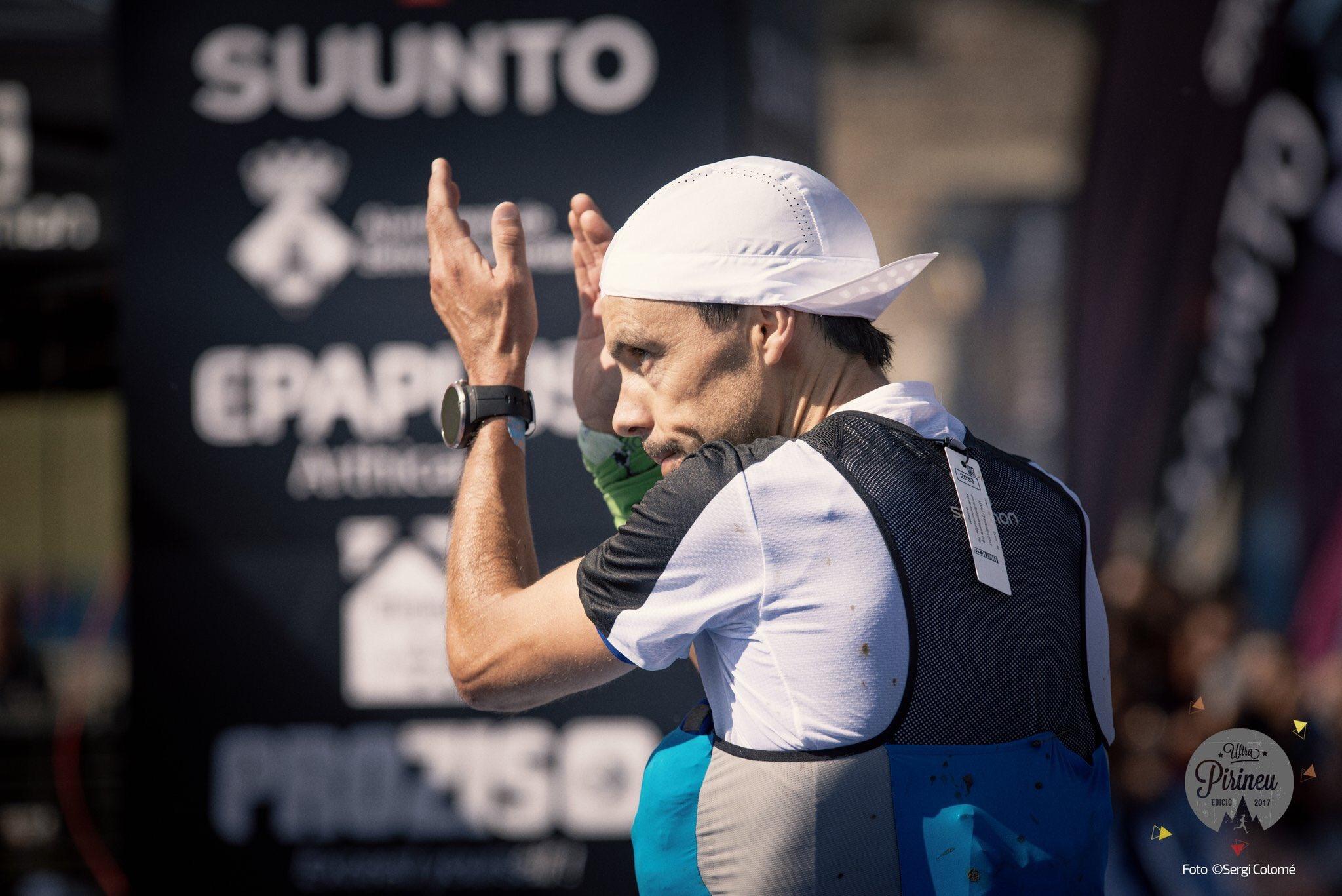 Tòfol Castanyer en la Marató Pirineu 2017