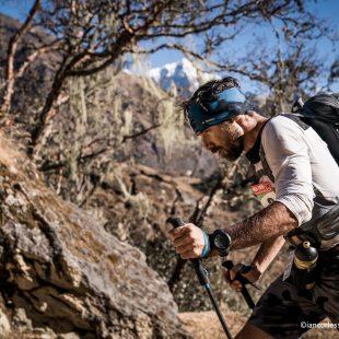Luis Alberto Hernando en la última etapa del Everest Trail Race 2017