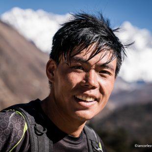 Suman Kulung en la Everest Trail Race 2017