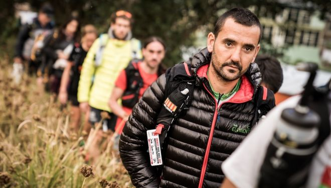 Jordi Gamito en la Everest Trail Race 2017