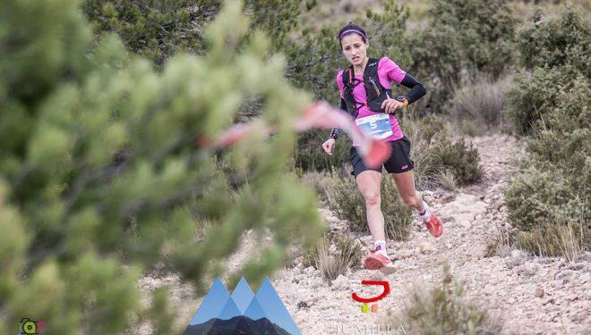 Eli Gordón en la Barbudo Trail 2017