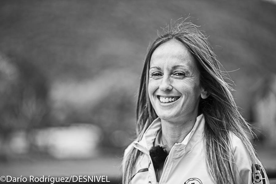 Azara García en el Campeonato Mundo Carreras por Montaña 2016 celebrado en Barruera (Vall de Boí). Quedó subcampeona SkyRunning (42k).