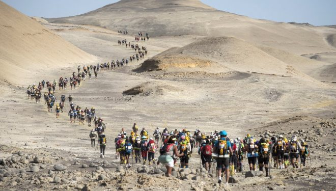 Cuarta etapa del Marathon des Sables Perú 2017