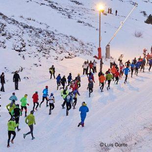 Salida de la Sierra Nevada Snowrunning 2017