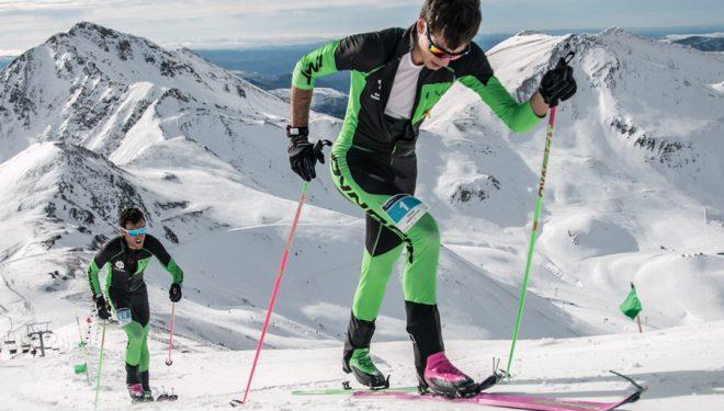 Oriol Cardona supera a Marc Pinsach en el tramo final del Open Vall de Boí 2018, en el que se proclamó campeón de España de Cronoescalada