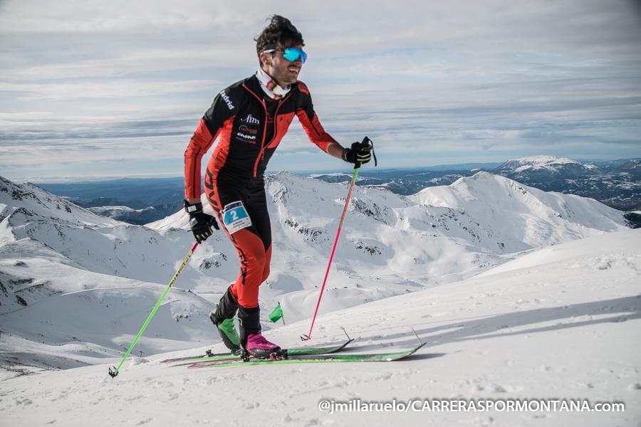 Antonio Alcalde en el Campeonato de España de Cronoescalada 2018 en el Open Vall de Boí