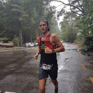 Dylan Bowman en la Tarawera Ultramarathon 2018