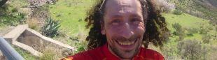 Luca Papi preparando la Transgrancanaria 360º