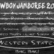 Listado de los Coconino Cowboys para la Wester States 2018