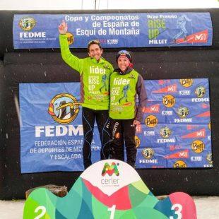 Manu Merillas y Mónica Sáez, ganadores de la CronoCerler 2018