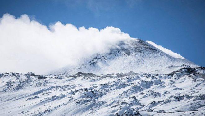 Imagen del Etna del 21 de febrero de 2018
