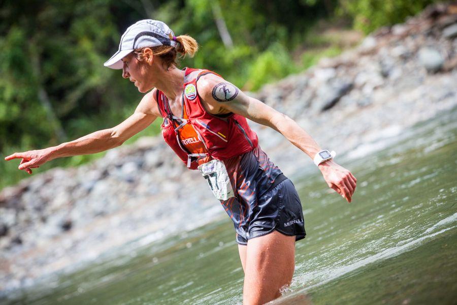 Ragna Debats en la tercera etapa de The Coastal Challenge Costa Rica 2018