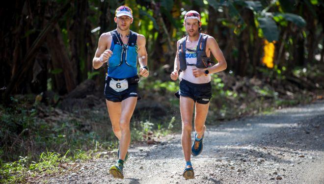 Tom Evans (izda) y Hayden Hawks en The Coastal Challenge 2018