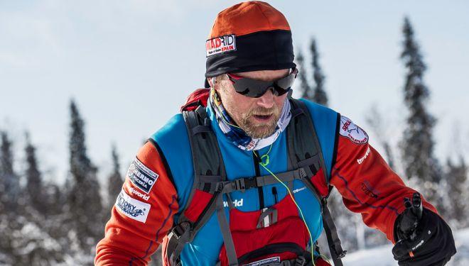 Antonio de la Rosa en la Lapland Extreme