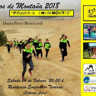 Cartel de Ciclos de Montaña 2018, celebrado en Segovia